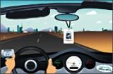Сдаем экзамен по вождению и правилам дорожного движения. Управление - мышь.