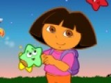 В этой игре Даша собирает разноцветные звездочки и прячет в сумки. Помогите ей в этом. Используйте мышку, что бы словить и отправить звездочку в нужную сумку. Цвет звездочки должен соответствовать цвету сумки.