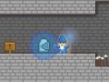 Эта игра повествует о маленьком рыцаре, которого изгнали из королевства за то, что он потерял свой меч. Помоги ему преодолеть все препятствия  на его пути. Собирай монеты и ключи. Пользуйся помощью волшебников. Магия поможет выше прыгать или защитить от острых шипов.