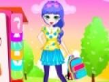Школьная форма дает возможность поработать над своим имиджем и подобрать себе одежду сдержанную, но очень стильную и красивую. Цель этой игры создать школьную форму для девочки и возможно она станет примером подражания для других девочек.