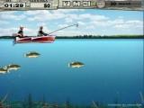 На озере выдался чудесный денек и Вы отправились на рыбалку на моторной лодке. Ваша цель - поймать определенное количество рыбы в ограниченное время. В перерывах можно апгрейдить Ваши снасти.