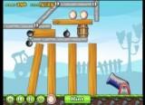 В данной физической игре Вы должны высиживать птенцов, разбивая скорлупу яиц при помощи выпущенных из пушки скелетов. Количество выстрелов из орудия не ограничено, главное - уложиться во время.
