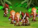 В этой игре ты перевоплотишься в настоящего рыцаря с мечем, который отправился свершать подвиги. Твоя задача убить всех противников на пути и собрать все сокровища, которые найдешь. Управление персонажем происходит при помощи кнопок AWDS, J - атака, или разбить бочку, подобрать предмет. K - прыжок.
