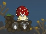 Цель игры грибное противостояние помочь веселому мухомору уничтожить противный гриб. Для этого используйте желуди. Включите логику, что бы пройти уровни этой игры на ловкость.