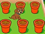 Даша всегда хорошо ухаживала за щенком. В благодарность за это он решил сделать ей сюрприз и вырастить цветы. Помоги ему в этом. Выбери семена, поливай их и удобряй до тех пор пока они не зацветут!