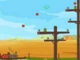 Маленькие птички голодают и от этого не могут летать, но Вы можете их накормить, забрасывая им фрукты при помощи катапульты в этой отличной физической игре в стиле Angry Birds.