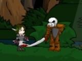 Игра Милли Megavolte 5 - Милли и психо бомбардировщик нарисована в стиле любимых комиксов. Она очень красочна и динамична. Игра перенесет тебя в мир приключения и драки. Тебе придется противостоять разным монстрам, которые с каждым уровнем будут становиться все сильнее. В процессе драки ты можешь использовать разные приемы и очень острый меч, перед которым даже самые страшные монстры не устоят. Твой персонаж передвигается при помощи стрелок на клавиатуре, кнопки S и D отвечают за прыжки и удары мечем. Если использовать их вместе со стрелками на клавиатуре, персонаж будет выполнять сложные выпады и удары.