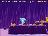 В этой игре Алладин должен воспользоваться силой своего знакомого джина и уничтожить все золотые статуи на уровнях!