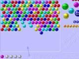 В этой игре вам придется убрать все шарики находящиеся в верхней части игрового поля. Для этого вы будете стрелять разноцветными пузырями. Если пузыри из одного цвета соберутся в цепочку то они лопнут.