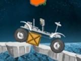 Попробуй как можно быстрее преодолеть путь с большим количеством преград на прекрасном космическом вездеходе.