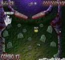 Очень необычный пинбол, в которым Вы можете совместить полезное с приятным - набор очков с уничтожением полчищ зомби! Поле пинбола - это три совмещенные территории кладбища, по которым и будет кататься тяжелый, убийственный для зомби шарик!