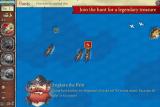 Живи жизнью пирата. Захватывай торговые суда, уничтожай суда пиратов-конкурентов и военные корабли, посещая острова с зарытыми сокровищами. Если повезет, то сможешь отыскать главное сокровище - Глаз Нептуна!