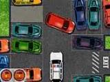 Нужно припарковать машину в любое свободное место, не получив урона за максимально короткое время