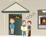 Практикуемся в английском языке и изучаем слова на рождественскую тематику.