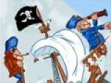 Pirates Arctic Treasure - очень увлекательная головоломка, в которой Вам придется скидывать сундуки с сокровищами в море, что бы их потом подобрали пираты. включи логику, что бы пройти уровни.