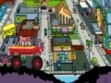 Цель игры Homer Monster Car помочь Гомеру Симпсону Проехать очень сложный участок трассы на своем автомобиле и не перевернуться. Не смотря на то, что у него не гоночный автомобиль, скорость он может развивать приличную. Но тогда возрастает вероятность, что на очередном ухабе внедорожник перевернется.