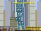 Вы мечтали построить собственный город?! В этой игре на ловкость у Вас появится такая возможность. Цель игры стройка. Вы должны строить высотные дома так, что бы они были ровными и в них заселилось как можно больше людей.