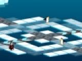 Перед Вами прикольная игра с веселыми пингвинами, которые должны выжить в ледяном лабиринте. Увлекательная игра бродилка перенесет Вас в фантазийный мир, что бы Вы окунулись в приключения с головой.