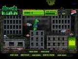 В этой игре про Халка вы управляете Вашим зеленым героем при помощи мыши! Оттолкнитесь хорошенько от земли и в огромном прыжке уничтожьте кучу ваших врагов, пока не истекло отведенное время!