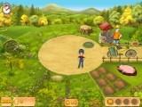 Отличная увлекательная игра, похожая на веселую ферму. Выращиваем овощи, разводим птиц и животных и выводим ферму дедушки на вершину успеха! Язык игры - русский.