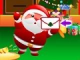 В этой игре ты станешь помощником Санта Клауса. Он получает письма от детей, в которых они рассказывают какой подарок желают получить. Твоя задача помочь Санте собрать все подарки и доставить ребятам.