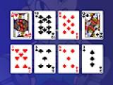 В этой игре Вам предстоит убрать все карты, которые разложены на игровом поле. Точнее сказать не убрать, а сложить в центральной части. Карты можно складывать по мастям по убыванию в верхней части, и по возрастанию в нижней. Не все пасьянсы такого типа имеют решение.