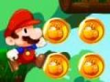 Всем известный Марио, в погоне за золотыми монетами, из под земли выбрался на поверхность и прыгает по трамплинам все више и выше. Соберите все золото, но при этом не попадитесь в лапы врагов и не упадите вниз!
