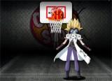 В этой игре бакуган Вы будете играть баскетбол и вам надо забивать баскетбольные мячи в сетку. Против вас играет персонаж мультфильма Маска, вы должны обходить его что бы сделать бросок иначе он будет отражать ваши мячи.