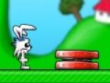 Перед Вами прикольная игра бродилка, в которой Вы будете управлять веселым кроликом. Цель игры бродилки добраться до финиша и собрать золотые монеты. Пусть Вас не смущают сложности, которые станут у Вас на пути.