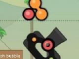 Собирайте шарики одного цвета в длинные цепочки, а потом бомбите их такими же шариками с кружочком внутри и вы получите огромное количество бонусов.
