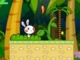 Rainbow Rabbit 2 это яркая игра бродилка, в которой вам придется управлять симпатичным кроликом и собирать золотые монеты и морковку. Главное не провалиться в пропасть или не попасть в опасную ловушку. Управление игры очень простое. Используйте стрелки, что бы кролик передвигался, и пробел - для прыжков.