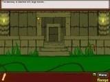 Путешественник по имени Энди приехал в джунгли на поиски сокровищ ацтеков. Всё, что у него пока есть, - это карта храма, в котором должны быть сокровища. Но она никак не сможет помочь, потому что храм закрыт и людей поблизости нет. Что же делать?