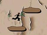 То как ты будешь проходить уровни этой игры зависит от твоего умения прыгать. За ограниченный промежуток времени, тебе предстоит забраться как можно выше. Управление осуществляется при помощи стрелочек на клавиатуре.