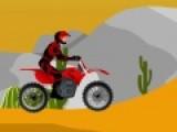 Мотогонки по пустыне очень сложное занятие для самых выносливых гонщиков. Стань участником такой гонки и доберись до финиша не перевернувшись.