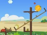 Спасите птиц из заточения и накормите их фруктами. Фрукты надо выстреливать из катапульты. Отличная физическая игра в стиле Angry Birds.