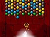 Задача игры убрать все железные шарики с игрового поля. Принцип действия такой же как и в классических пузырях. Стреляете цветными шариками в группы шариков такого же цвета. Когда в группе становится больше трех шариков они лопаются как пузыри.