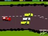 Помогите пьяному водителю добраться до конца уровня. Что бы двигаться прямо, кликайте, как можно чаще, левой кнопкой мыши.
