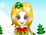 Цель этой игры Создать неповторимый образ Для девушки по имени Эрин. Она готовится к Рождеству. Помоги ей подобрать костюм и прическу, что бы выглядеть лучше всех.