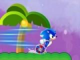 Sonic Launch - это интересная игра для детей и взрослых. Шустрый ёжик Соник, как всегда не хочет сидеть на месте. Он мчится вперед к приключениям. Помоги ему набрать максимальную скорость. Собирай звездочки и монетки на пути. За монеты Соник может купить скоростной транспорт. А звездочки помогут включить турбо скорость, когда силы почти на исходе. Что бы Ежик подпрыгнул, используй левую кнопку мыши. Что бы увеличить скорость, собирай звездочки и нажимай на пробел.