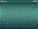 Данная игра представляет собой сложный лабиринт. Ваша задача провести сквозь него зеленый шар. Причем сделать это нужно быстрее, чем красный шар доберется до финиша.