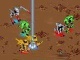 Очень мощные тактические поединки роботов. Три робота, каждый из которых атакует по-своему. Выбирай тактическую позицию и ожидай удобного момента, чтобы атаковать. Можно сражаться против другого игрока