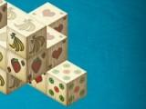 Задачей игры является убрать с игрового поля все кубики. Для этого выбирайте кубики с одинаковым рисунком.