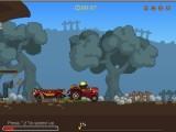 Наш главный герой - Крот, работает водителем трактора, который, в свою очередь, тянет вагончик с рудой или другими полезными ископаемыми. Помогите кроту благополучно, не рассыпав, доставить  ценный груз другому кроту - прорабу.