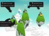 Цель игры King of the Rocks – завоевать все замки на скалах среди океанов. Для этого отправляйте свои войска в отважные путешествия. Улучшайте крепости и приумножайте армию.
