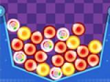 В большой контейнер будут сыпаться шарики. Ваша задача не дать этому контейнеру заполниться. Как только шарики одного цвета соприкасаются, кликайте по ним левой кнопкой мыши, что бы они лопнули. Со временем количество падающих шариков будет увеличиваться. И контейнер начнет заполняться быстрее.