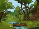 Отличная бродилка с элементами квеста. У маленькой девочки орел унес игрушку и она отправляется одна в темный лес на поиски. Впереди ждет масса забавных приключений и головоломок в полном тайн и опасностей лесу!