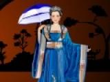 В странах Азии существует мода одеваться в традиционные наряды. Твоя задача подобрать образ для девушки, в котором она будет выглядеть неотразимо.