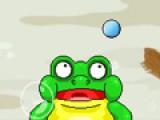 Помогите жабе сбивать цели. Для этого стреляйте по ним шариком. Количество шариков У жабы ограничено.