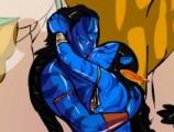 Наконец то, Джейк и Нейтири вместе, но это не значит, что за ними никто не следит. В этой игре, Вам необходимо помочь Джейку поцеловать Нейтири. Но так чтобы этого не заметили ее брат и ее верный птеродактиль.