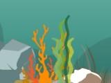 Вы путешествуете на маленькой подводной лодке. Постарайтесь уничтожить всех враждебных обитателей подводного царства и соберите максимум бонусных очков.